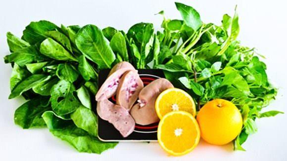 葉酸が多く含まれる食品のイメージ