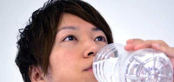 水分摂取を意識する